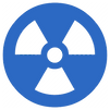 picture of a radioactive symbol for computer virus cleanup for genius computer repair and service in cape coral swfl