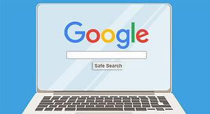picture of laptop displaying google search for optimizating internet speeds in cape coral swfl repair