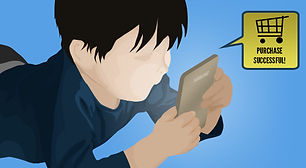 picture of unsupervised child using a cell phone for parental filtering and monitoring services in cape coral swfl