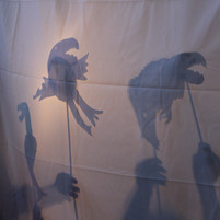 LAND Studio Park Program, Shadow Puppets. Photo by McKenzie Merriman