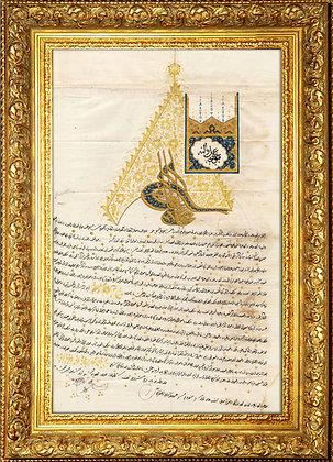 Sultan II.Mahmud Ferman