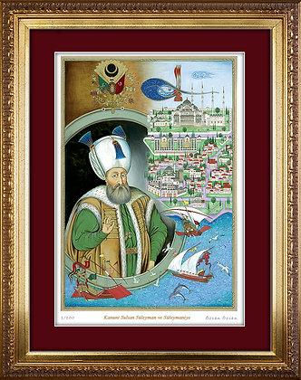 Kanuni Sultan Süleyman ve Süleymaniye / Özcan Özcan