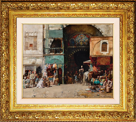 İstanbul'da Bir Pazar || Alberto Pasini