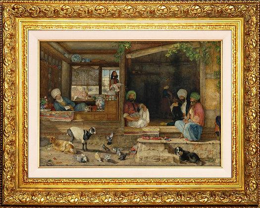 Üsküdar'da Bir Kebapçı Dükkanı || John Frederick Lewis