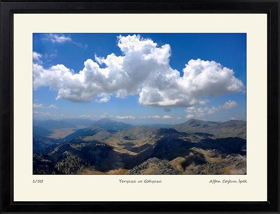 Yeryüzü ve Gökyüzü    Edisyon Baskı Fotoğraf
