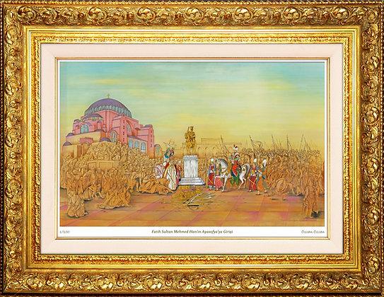 Fatih Sultan Mehmed Han'ın Ayasofya'ya Girişi