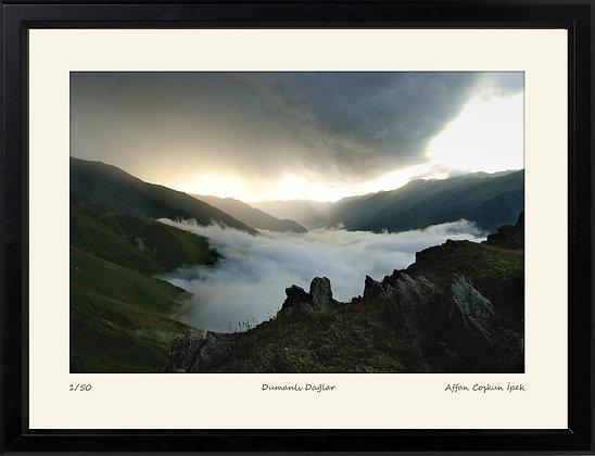 Dumanlı Dağlar || Edisyon Baskı Fotoğraf