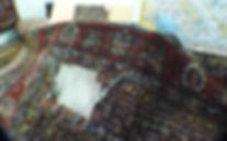 riparazione di buchi,aperture e vello mancante
