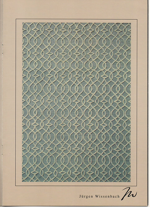 JACQUARD-LIGHT BLUE & BEIGE