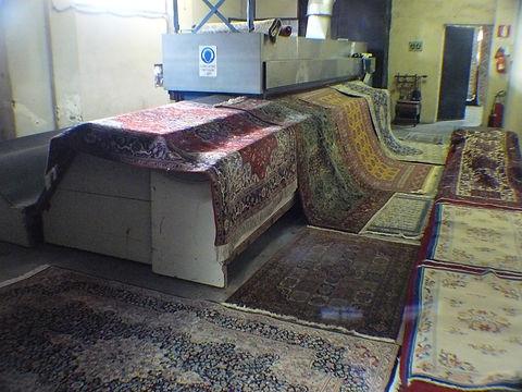 Battitura tappeti