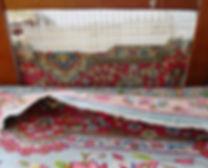 ricostruzione frange tappeti,riparazione buchi