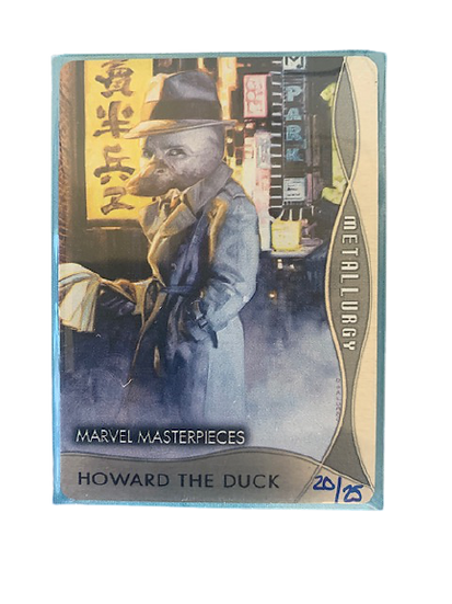 2020 MARVEL MASTERPIECES HOWARD THE DUCK M-1 #20/25