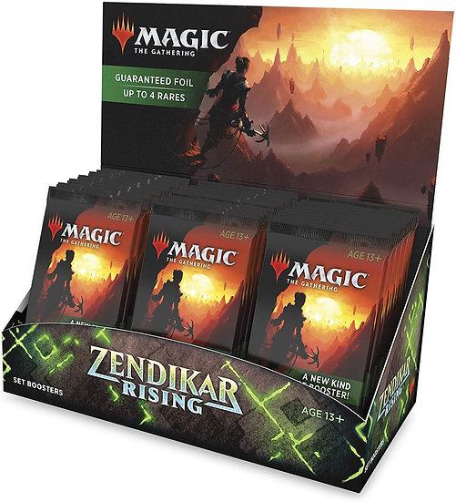 Magic The Gathering Zendikar Rising Set Booster Box