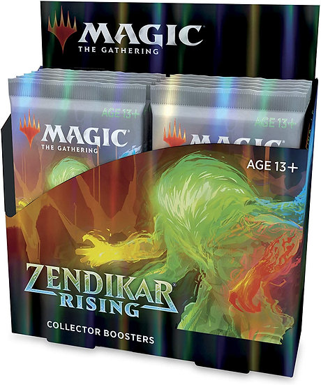 Magic The Gathering Zendikar Rising Collector Box