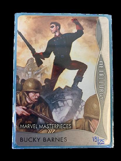 2020 Marvel Masterpieces Bucky Barnes M-27 #13/25