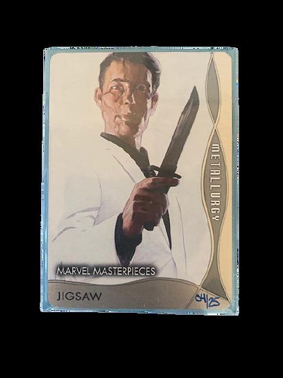 2020 MARVEL MASTERPIECES JIGSAW M-7 #04/25