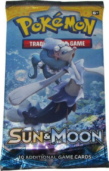 Pokemon Sun&Moon Booster Pack