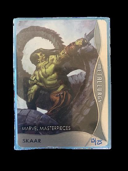 2020 MARVEL MASTERPIECES SKAAR M-83 #13/25