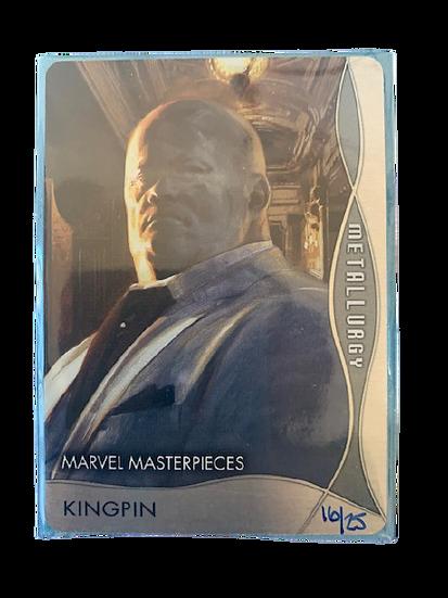 2020 MARVEL MASTERPIECES KINGPIN #16/25