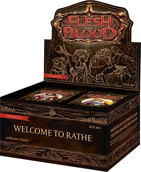 Flesh and Blood Welcome To Rathe Unlimted Booster Box
