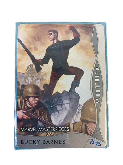 Marvel Masterpieces Metallurgy Buck Barnes by Dave Palumbo