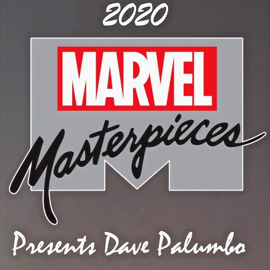 Marvel Masterpieces (featuring Dave Palumbo) Hobby Box (Upper Deck 2020)