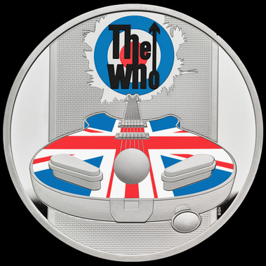 Moeda comemorativa The Who