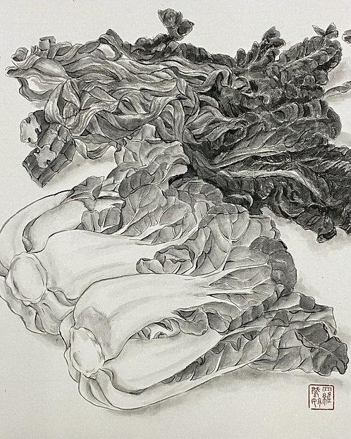 Dried & Fresh Pak Choi 珍食-金銀菜