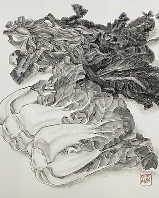Dried & Fresh Pak Choi