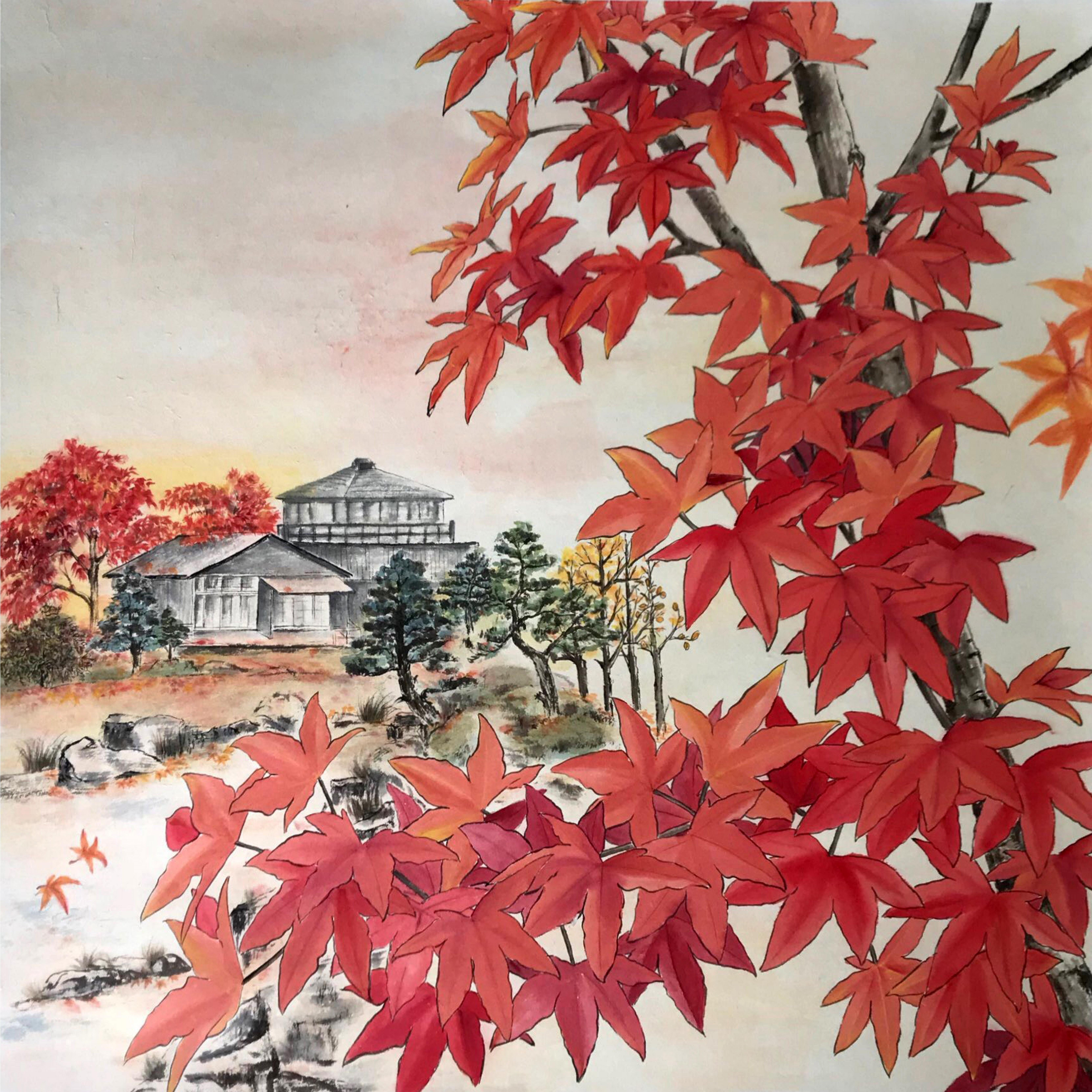 羅肇婷 Emily Law Artwork Autumn Maple