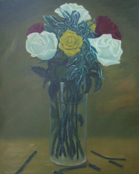 Roses in three Colour