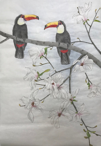 Twins Spring Songs 雙兒詠春