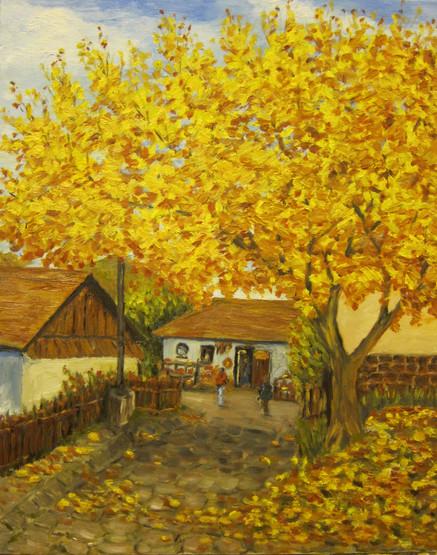 Autumn - Austrian Village