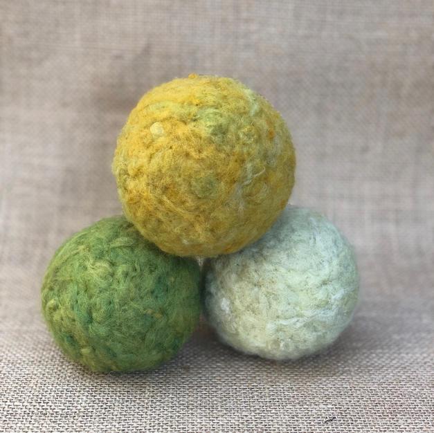 Handmade Wool Dryer Balls