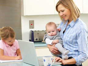 The difference between working from home and working from home with kids during a pandemic