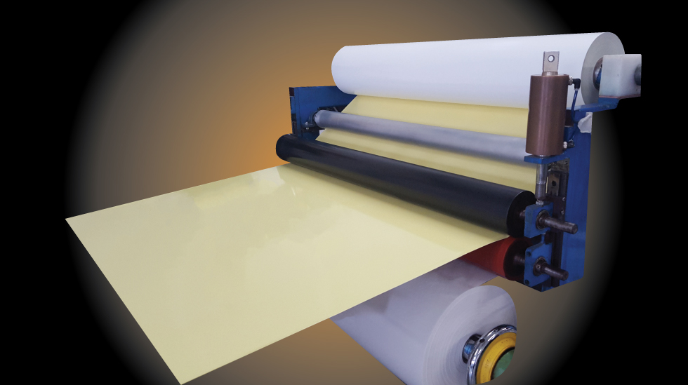 Roll-to-Sheet Lamination