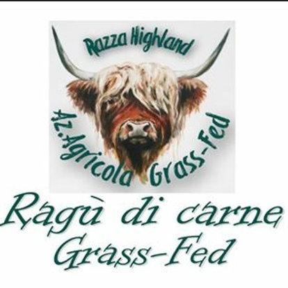 10 vasetti da 190gr Ragù Grassfed compresa spedizione
