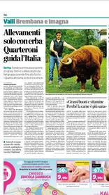 Grassfed Italiano su l'eco di Bergamo