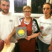 Consegna marchio Grassfed al Ristorante La Taverna Rottigni Bergamo