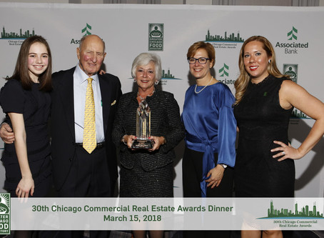 "Goldie B. Wolfe Miller receives inaugural ""Legend"" Award at Greater Chicago Food Depository Dinner"