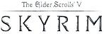 460px-Skyrim-logo-grayscale.png