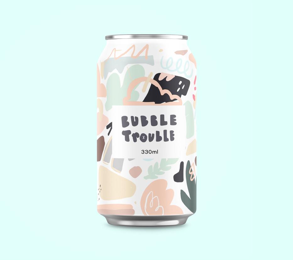 Michael Black Bubble trouble design