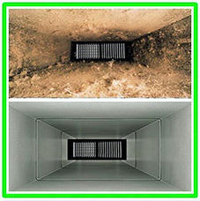 Dirt, dust, and pet dander accumulation in indoor air vents
