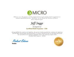 CMI Certificate