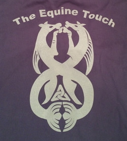 Back of Equine Touch Clothing Fuzzy