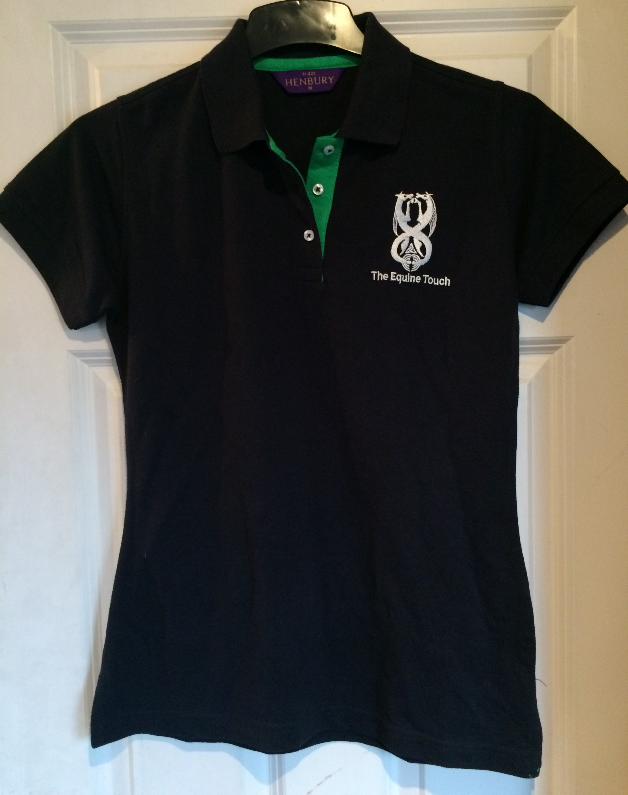 Henbury Contrast Ladies Polo
