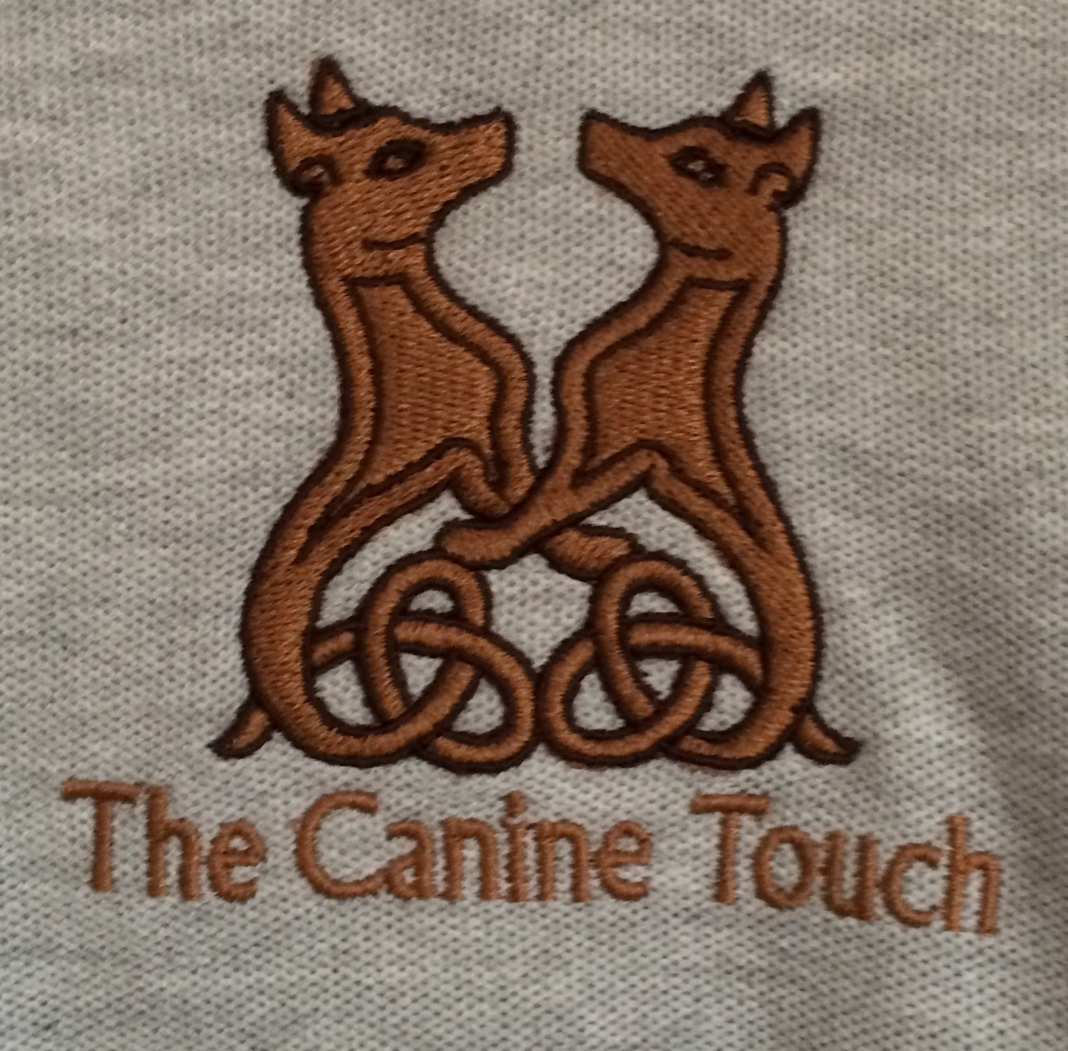 Canine Touch Left Breast logo