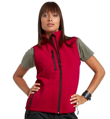 Russel Soft Shell Gillet - Ladies