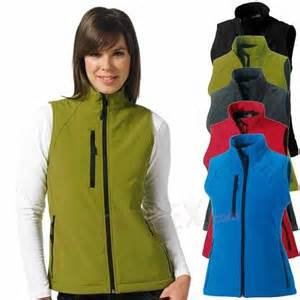 Russel Soft Shell Gillet - Ladies - 141F