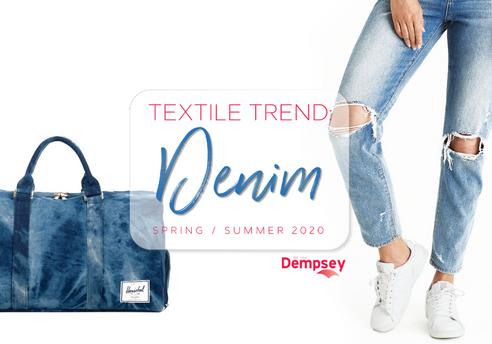 Textile Trend - SS 2020 - Denim